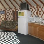 Yurt 3 interior