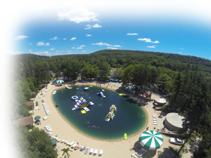 Smokey Hollow Campground Arial View