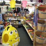 Camp Store candy aisle