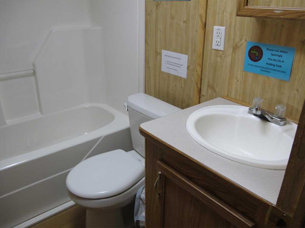 Park Model 1 bathroom