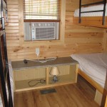 Park Model 2 Bedroom with 2 Bunks