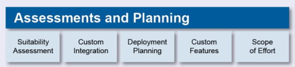 assessments and planning