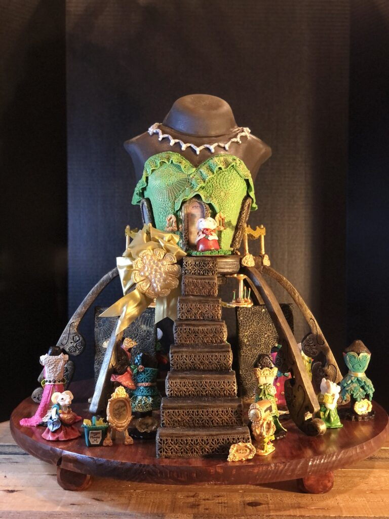 1st place gingerbread entry for Bailey's Fine Jewelry Competition in Raleigh, NC>