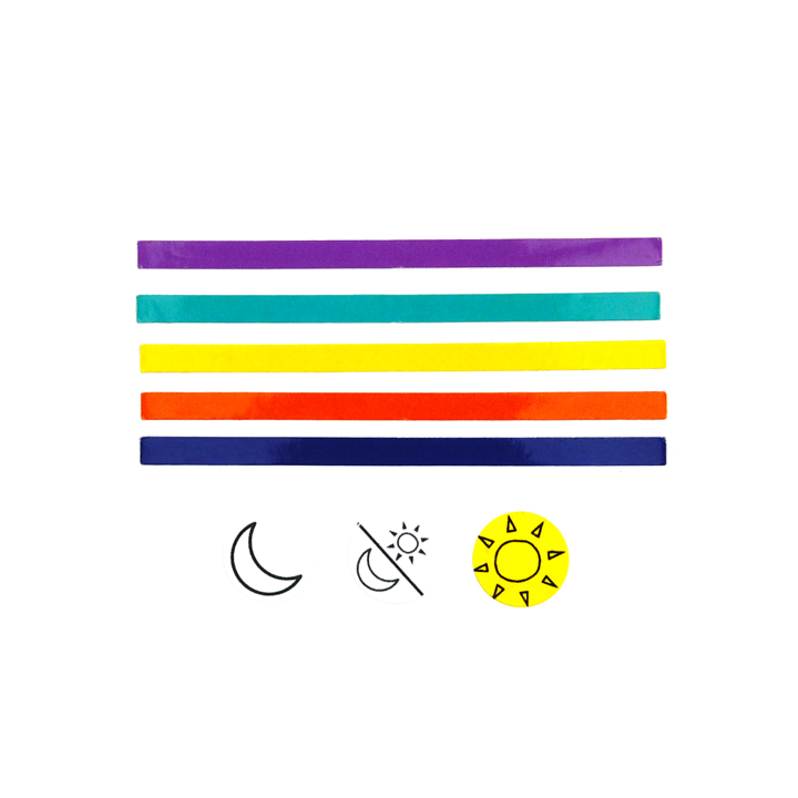 Colored Label Sticker (4-pack)