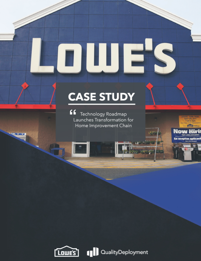 Lowes Case Study Cover with Logo