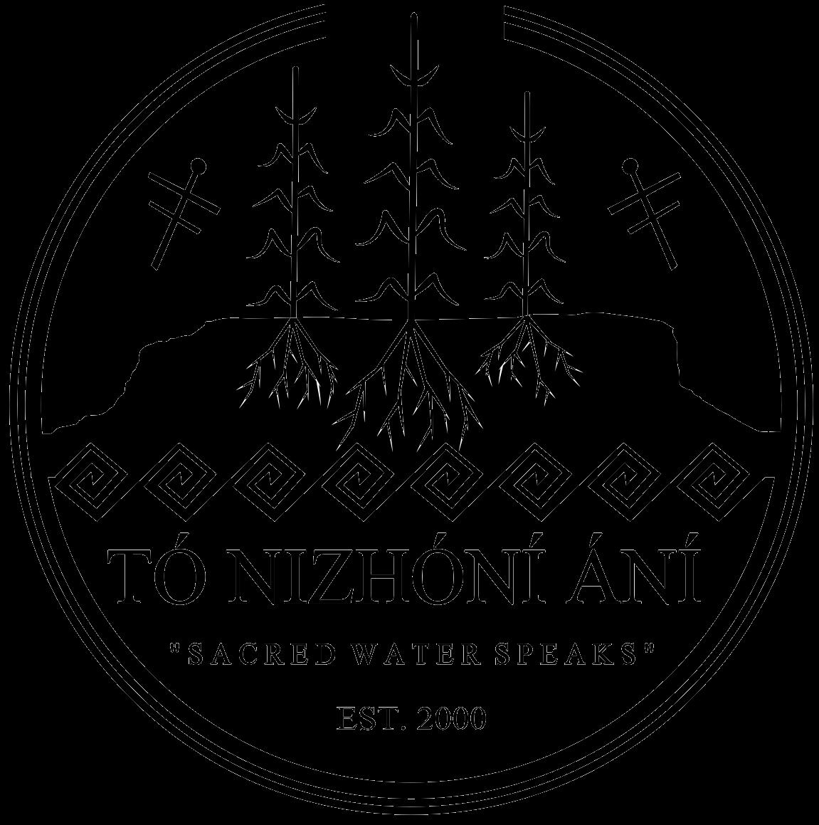 """Logo of Tó Nizhóní Ání """"Sacred Water Speaks"""""""