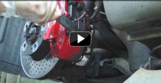 Porsche Boxster Brake Pad Replacement