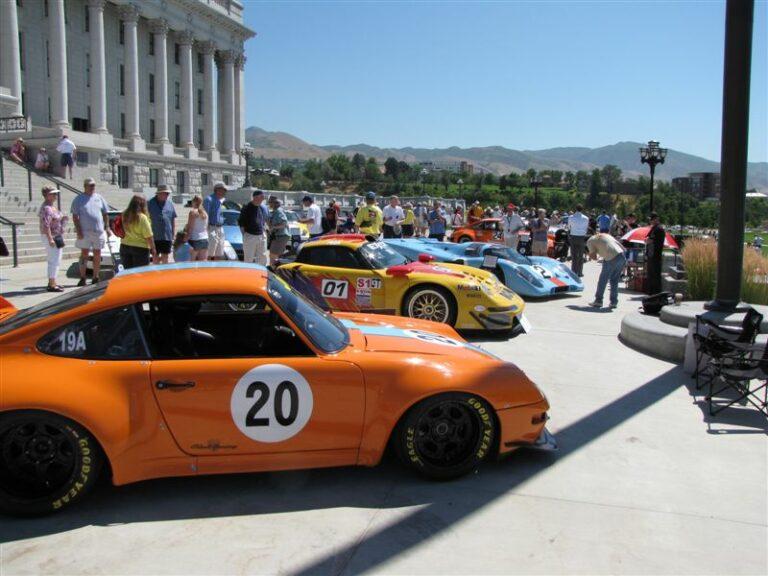 2012 Porsche Parade in Salt Lake City