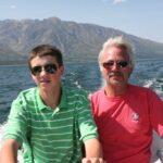 Joy Ride on the Deep Blue Lake