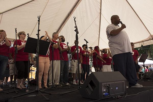 Worship Team Singing