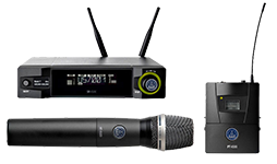 AKG Wireless Microphone System Picture