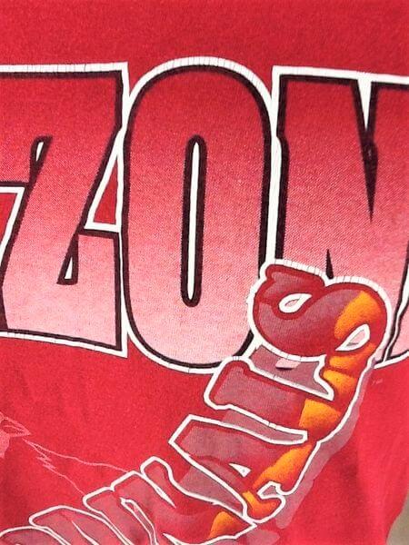1994 Vintage Arizona Cardinals Shirt (Med) Retro NFL Shirt (Close Up Graphic)