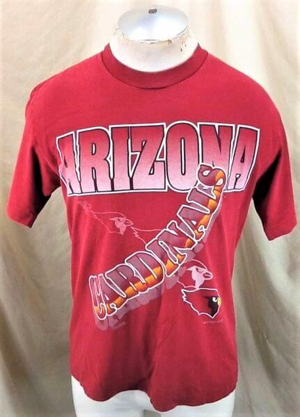 1994 Vintage Arizona Cardinals Shirt (Med) Retro NFL Shirt (Main)