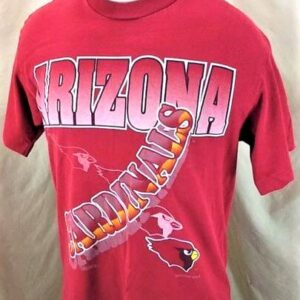 1994 Vintage Arizona Cardinals Shirt (Med) Retro NFL Shirt (Side)