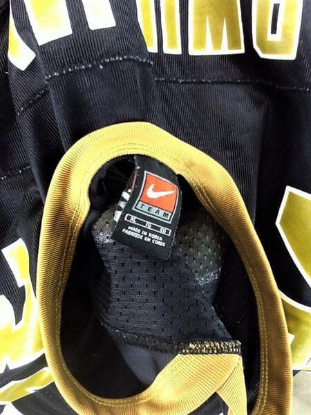 Vintage 1999 New Orleans Saints Ricky Williams #34 (XL) Retro NFL Football Black Jersey (Tag)