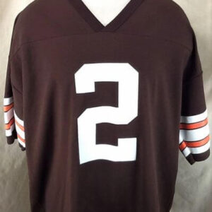Vintage 90's Logo Athletic Tim Couch #2 (XL) Cleveland Browns NFL Football Jersey (Front)
