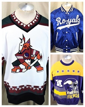 Jerseys & Sports Apparel - Our City Vintage Our City Vintage Category Photo