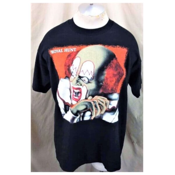 1993 Royal Hunt Clown In The Mirror (XL) Single Stitch Vintage Band T-Shirt (Main)