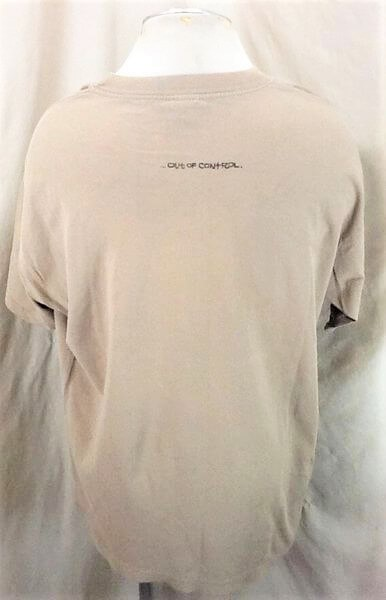 1996 Pearl Jam Gremmie Out of Control (XL) Vintage Giant Brand Rock T-Shirt (Back)