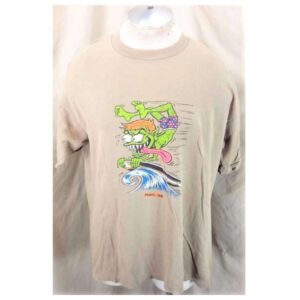1996 Pearl Jam Gremmie Out of Control (XL) Vintage Giant Brand Rock T-Shirt (Main)
