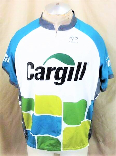 Cargill Seed Company Bike Apparel (2XL) Zip Up Graphic Cycling Jersey (Front)