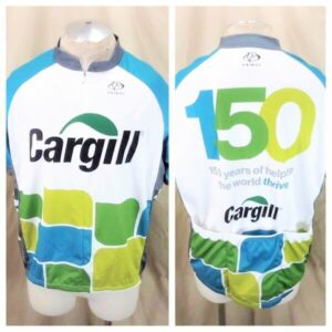 Cargill Seed Company Bike Apparel (2XL) Zip Up Graphic Cycling Jersey (Main)
