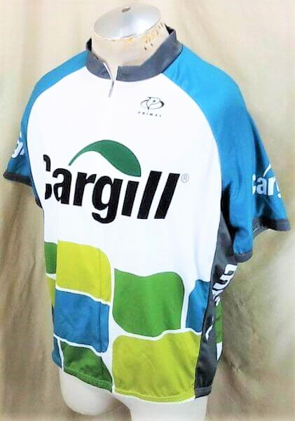 Cargill Seed Company Bike Apparel (2XL) Zip Up Graphic Cycling Jersey (Side)