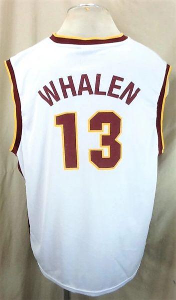 Minnesota Gophers Lindsay Whalen #13 (2XL) Retro College Basketball White Jersey (Back)