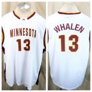 Minnesota Gophers Lindsay Whalen #13 (2XL) Retro College Basketball White Jersey (Main)