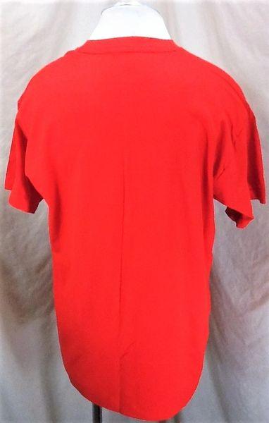 Vintage 1995 Michael Jordan I'm Back (XL) Retro Chicago Bulls Single Stitch T-Shirt (Back)