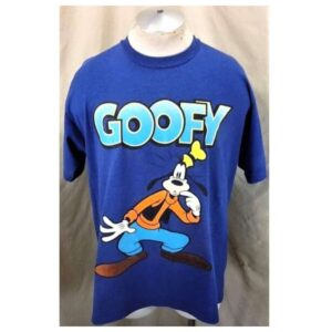 Vintage 90'S Velva Sheen Disney's Goofy (XL) Iconic Cartoon Single Stitch T-Shirt (Main)