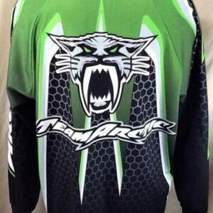 Vintage 90's Arctic Cat Team Arctic (Large) Snowmobile Gear Arctic Wear Jersey (Back)