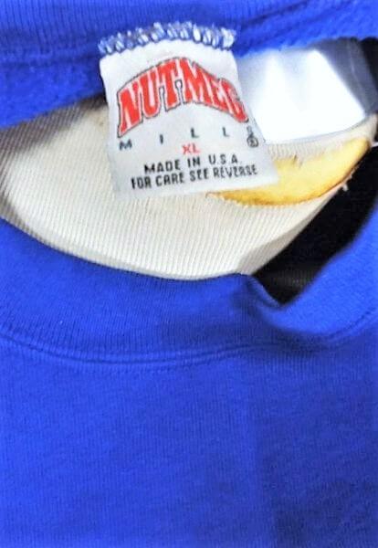 Vintage 90's Detroit Lions Football (XL) Retro NFL Graphic Crew Neck Sweatshirt (Tag)
