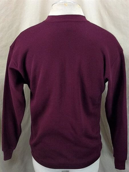 Vintage 90's Minnesota Gophers (Med/Large) Retro College Crew Neck Sweatshirt (Back)