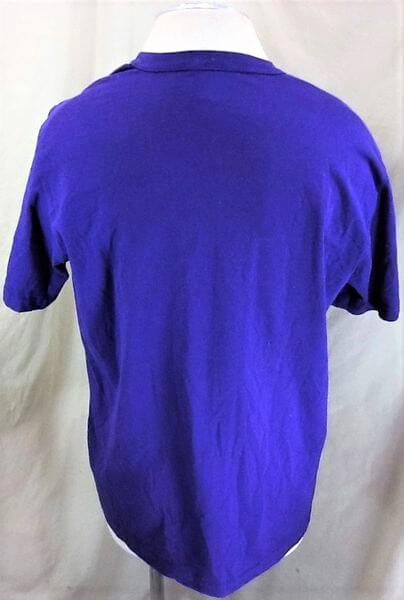 Vintage 90's Tampa Bay Devil Rays (XL) MLB Baseball Classic Logo T-Shirt (Back)