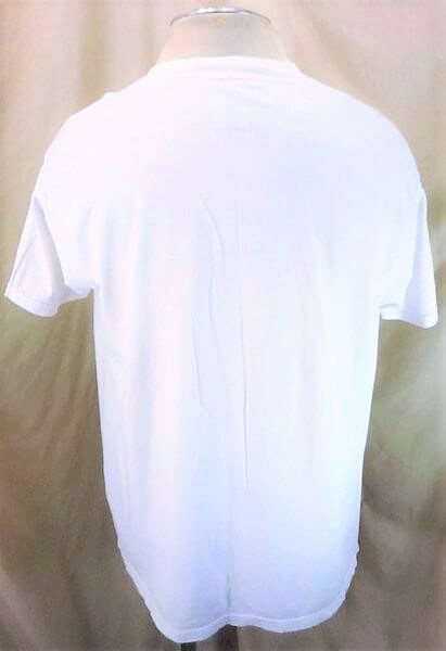 Vintage 90's Tultex Oregon State Beavers (XL) Retro College Apparel Graphic T-Shirt (Back)