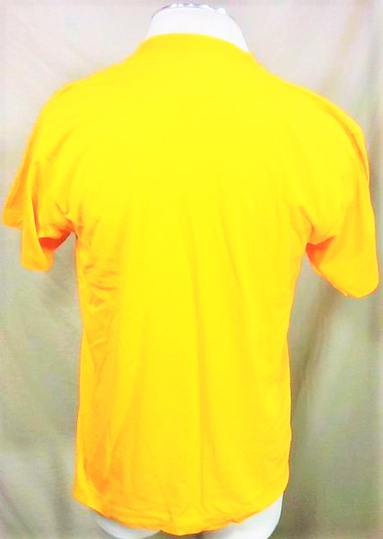 Vintage 90's West Virginia Mountaineers (Large) Retro WVU College Single Stitch Shirt (Back)