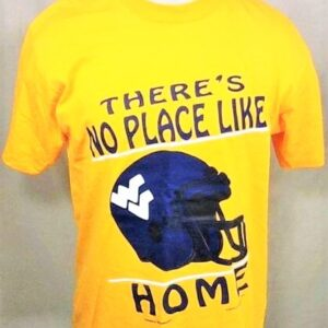 Vintage 90's West Virginia Mountaineers (Large) Retro WVU College Single Stitch Shirt (Front)
