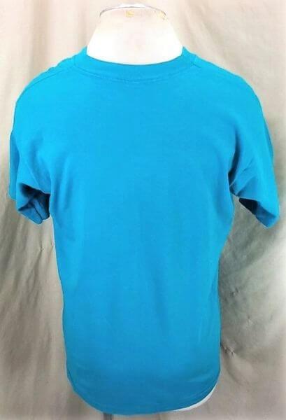Vintage CU Boulder Space Walk (Large) Colorado In Space Single Stitch T-Shirt (Back)
