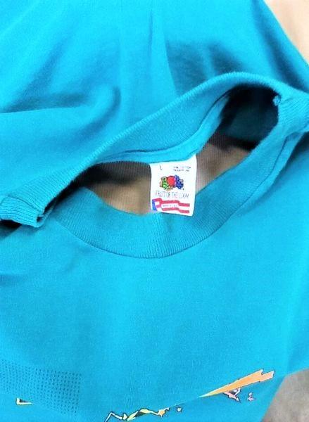 Vintage CU Boulder Space Walk (Large) Colorado In Space Single Stitch T-Shirt (Tag)