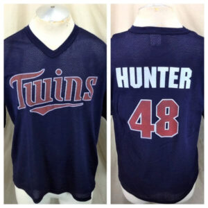 Vintage Torii Hunter #48 Minnesota Twins (Large) In Stadium Graphic Promo Jersey (Main)