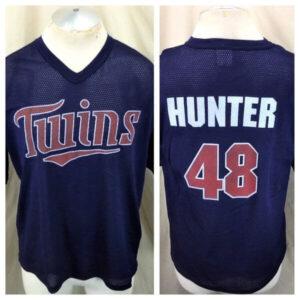 Vintage Torii Hunter #48 Minnesota Twins (Large) In Stadium Graphic Promo Jersey (Main)