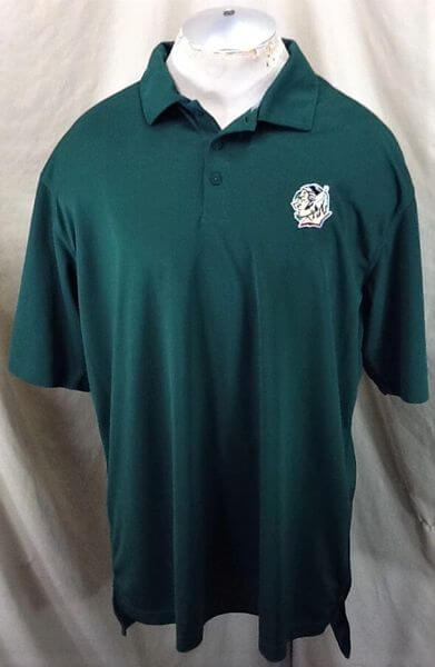 North Dakota Fighting Sioux (XL-2XL) UND Sioux Pullover Graphic Polo Shirt (Front)
