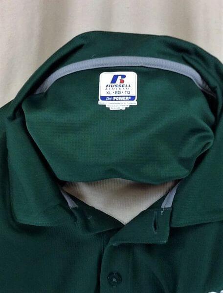 North Dakota Fighting Sioux (XL-2XL) UND Sioux Pullover Graphic Polo Shirt (Tag)