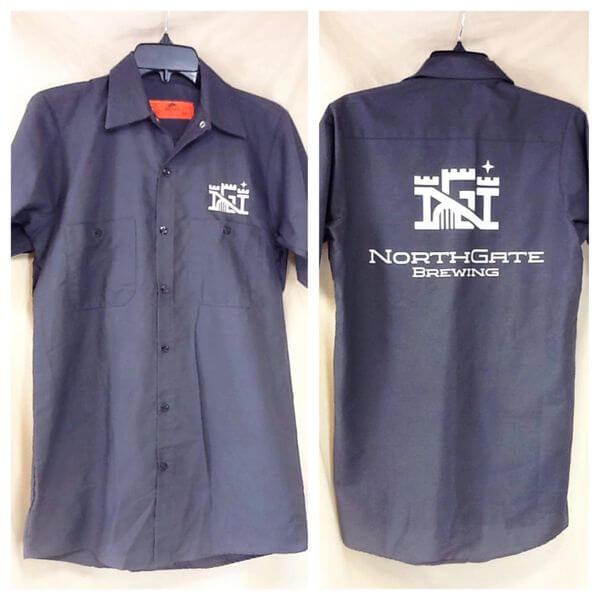 Red Kap Northgate Brewing (Small) Minneapolis Breweries Button Up Beer Shirt (Main)