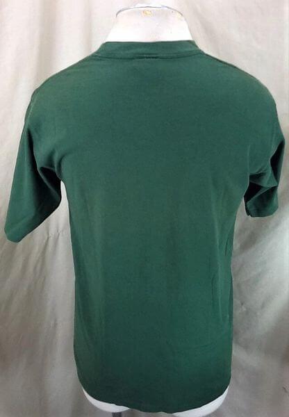Vintage 90's Gold's Gym Already A Legend (Med) Active Wear Work Out T-Shirt (Back)