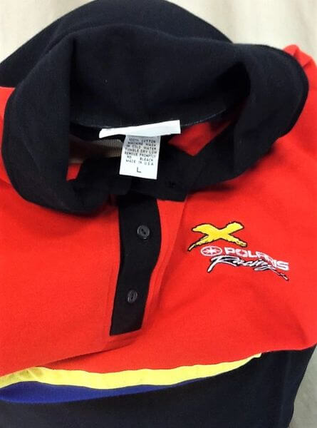 Vintage 90's Polaris Racing Genuine Race Gear (Large) Gear Heads Embroidered Polo Shirt (Tag)