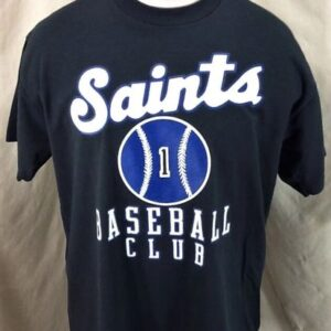 Vintage 90's St. Paul Saints (XL) Minor League Baseball Single Stitch T-Shirt (Front)