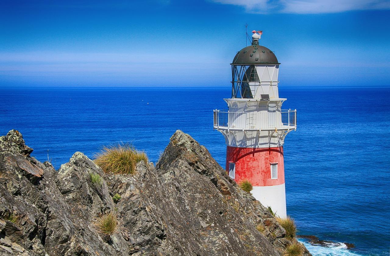 lighthouse, navigation, beacon