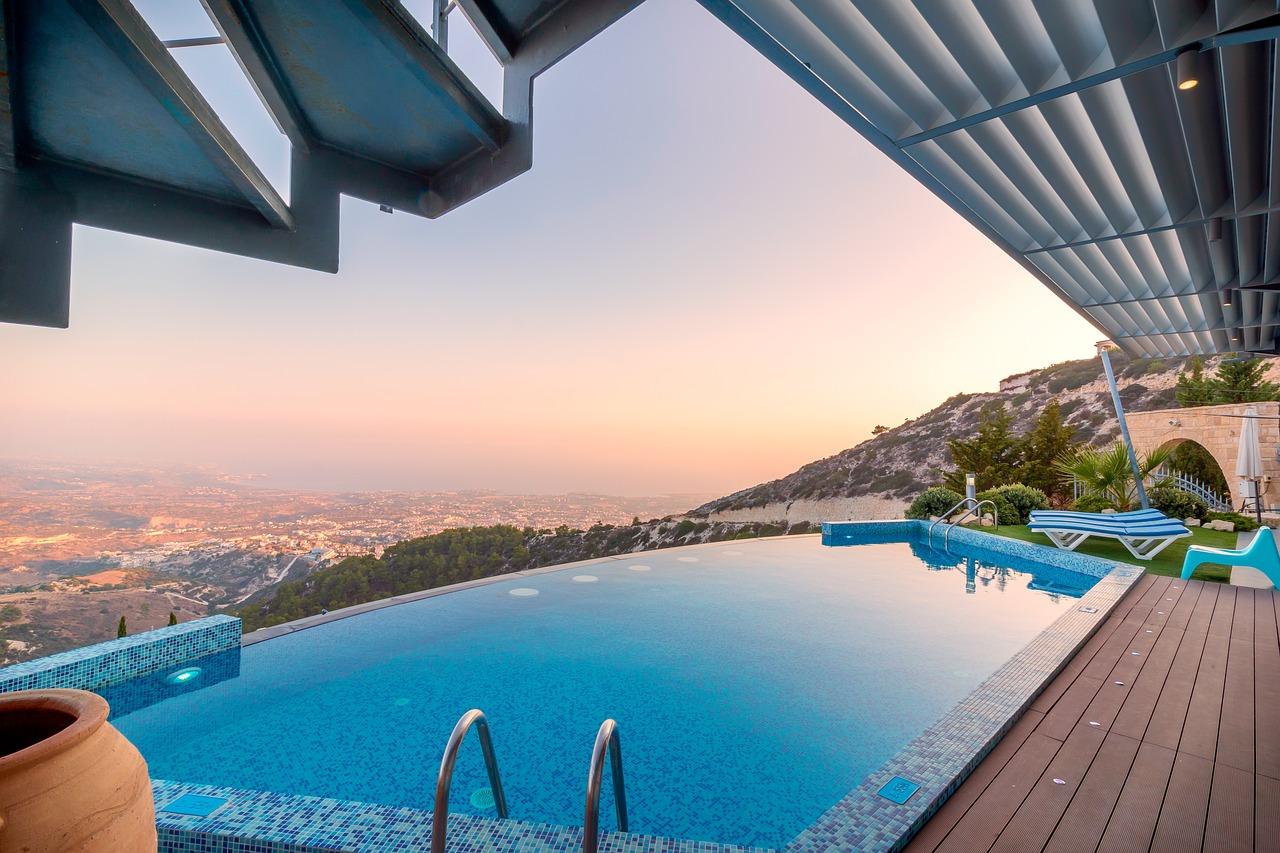 swimming pool, infinity swimming pool, c